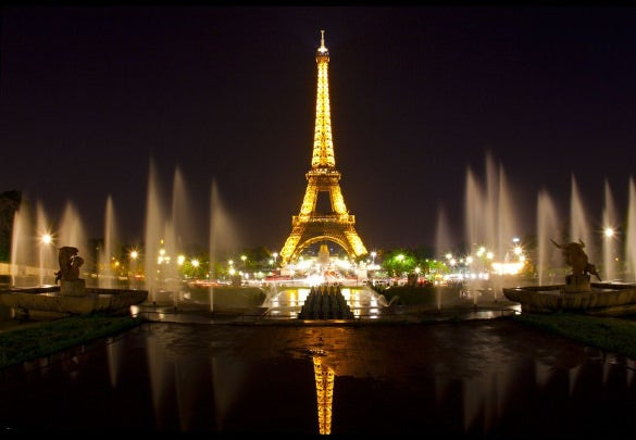 Eiffel Tower, Especially at Night time