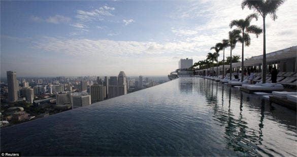 Swim in the Sky, Singapore