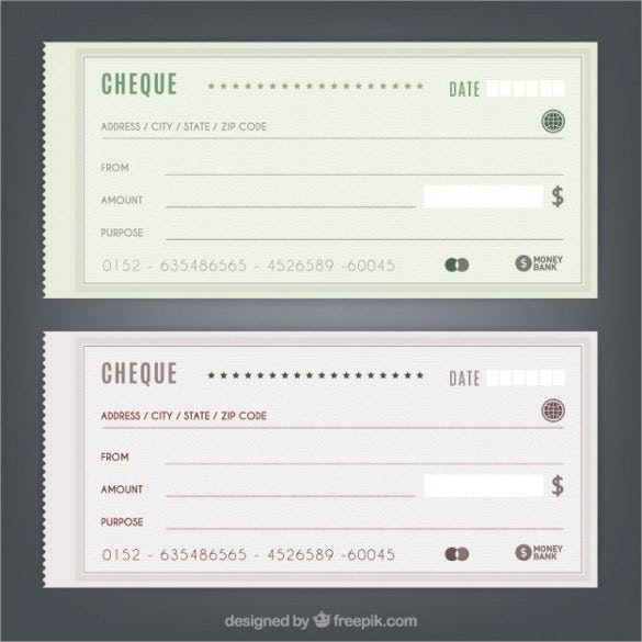 blank check template  u2013 30  free word  psd  pdf  u0026 vector