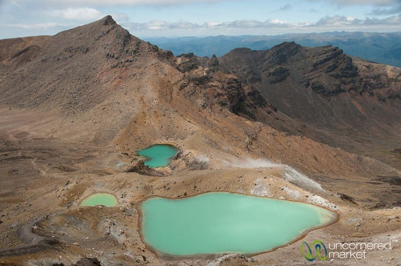 Tongariro Crossing Trek – New Zealand