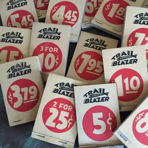 general store 8 price tags template