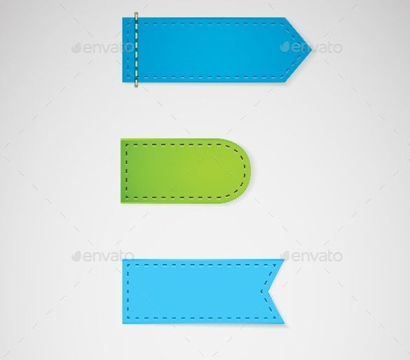 price tag with vector eps format template