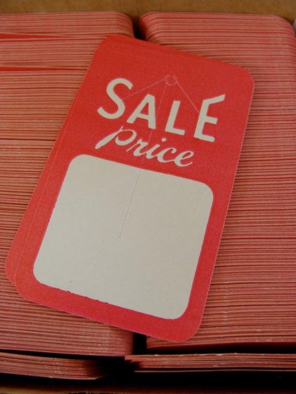 vintage kitsch price tag printable template