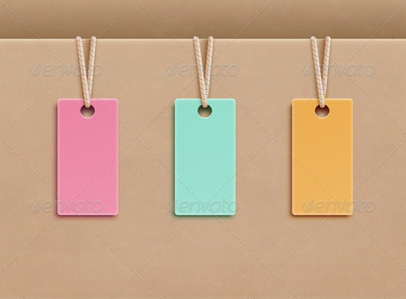Price Tag Template   Free Printable Vector Eps Psd  Ai