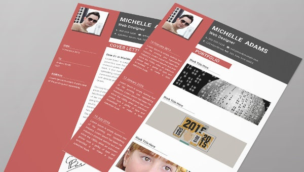 webdesignerfresher_resume template