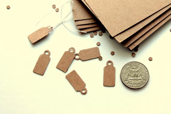 mini jewelry price tag printable template