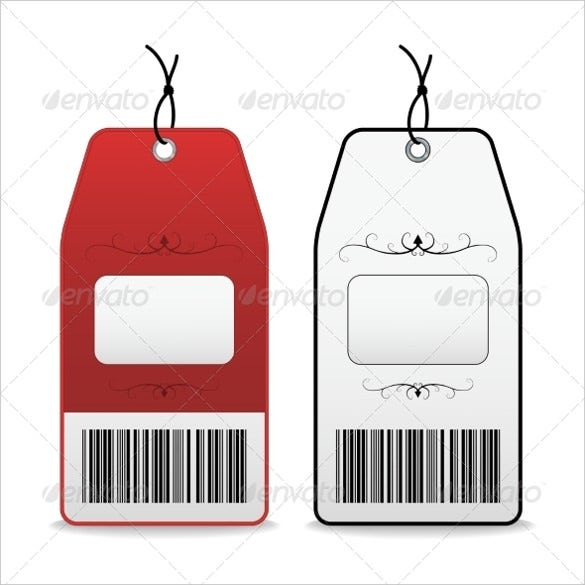 vector eps illustration of price tag template 1