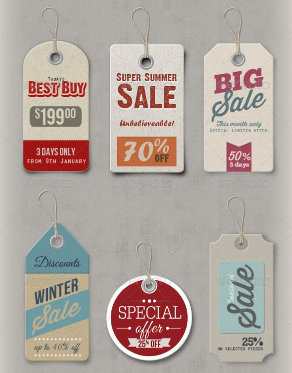 14 photoshop price tags psd format template download
