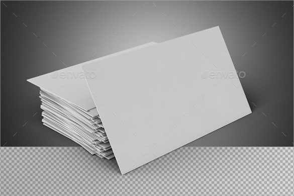 Blank Business Card Template Business Card TemplateFree - Free plain business card template