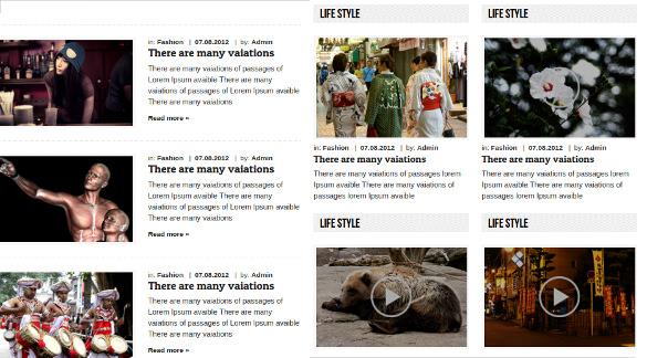 great html 5 news magazine responsive template