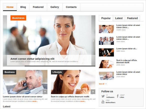 interesting news portal wordpress html 5 theme