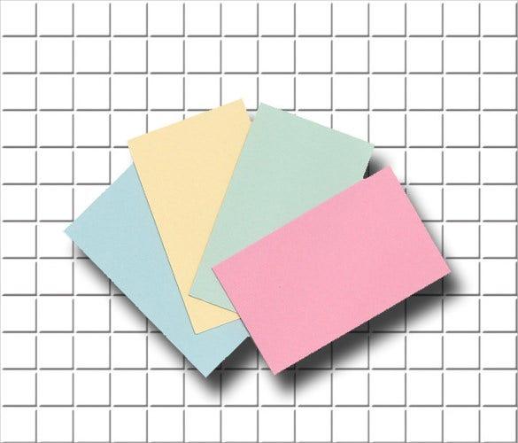 Custom Card Template  Blank Name Card Template  Free Card