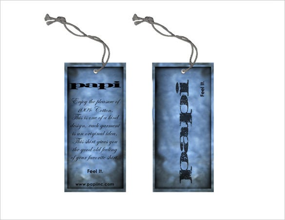 blue hang tag printable template download