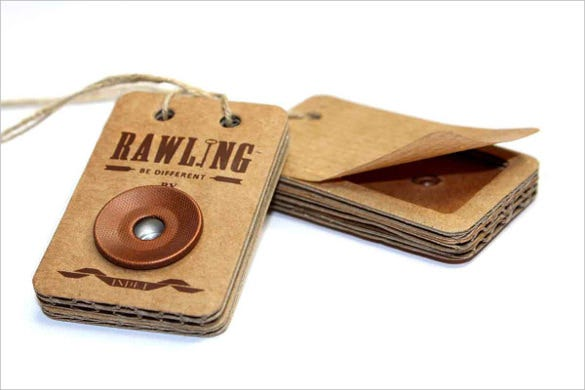 rawling hang tag template download