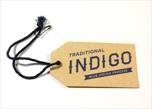 indigo hang tag printable template