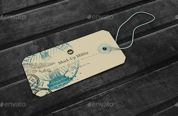 high quality hang tag template download