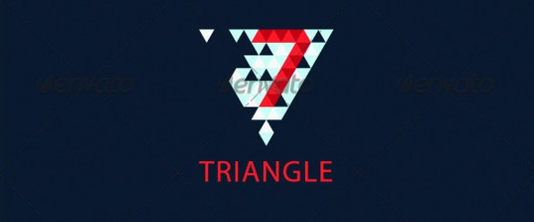 triangle logo vector eps download