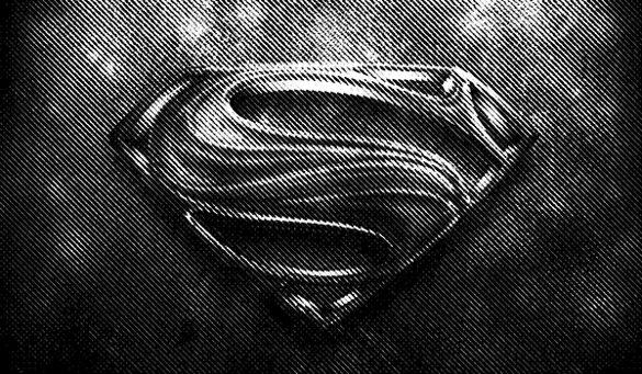 superhero logo on blackground