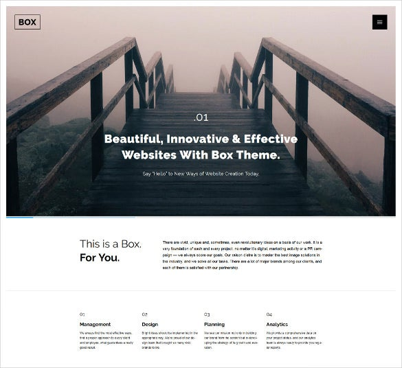 web design responsive wordpress jquery html5 theme