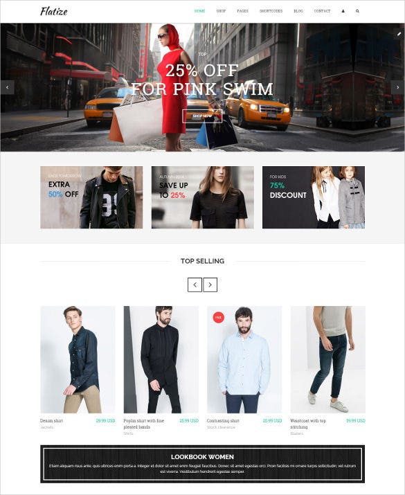 fashion ecommerce jquery html5 template