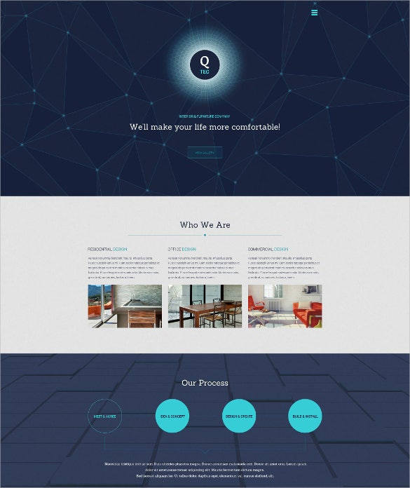 39  one page wordpress themes  u0026 templates