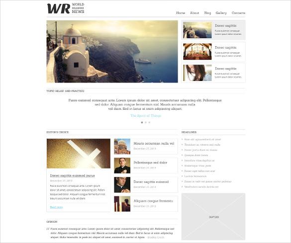 news portal responsive joomla bootstrap template