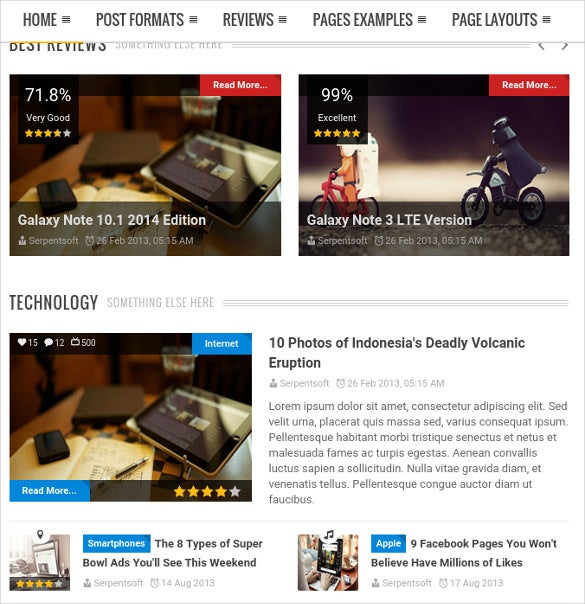 mag for you responsive retina html news bootstrap theme