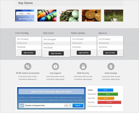 16+ Hosting PHP Themes & Templates | Free & Premium Templates