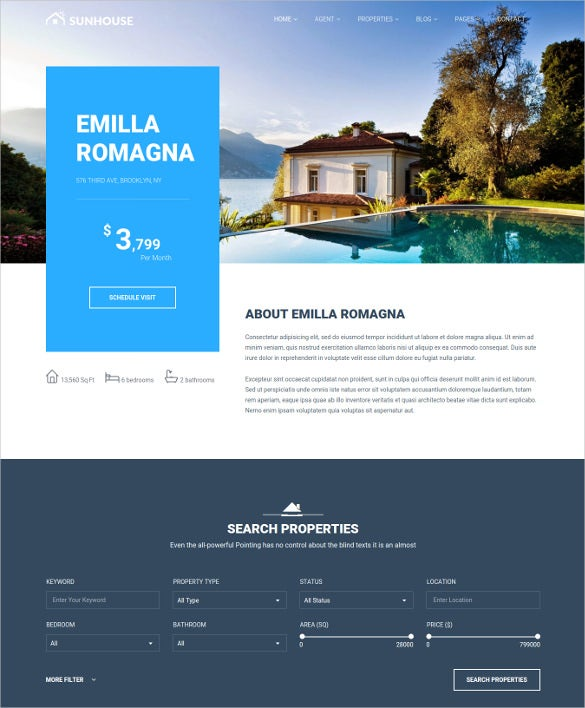 multiconcept real estate directory wordpress theme