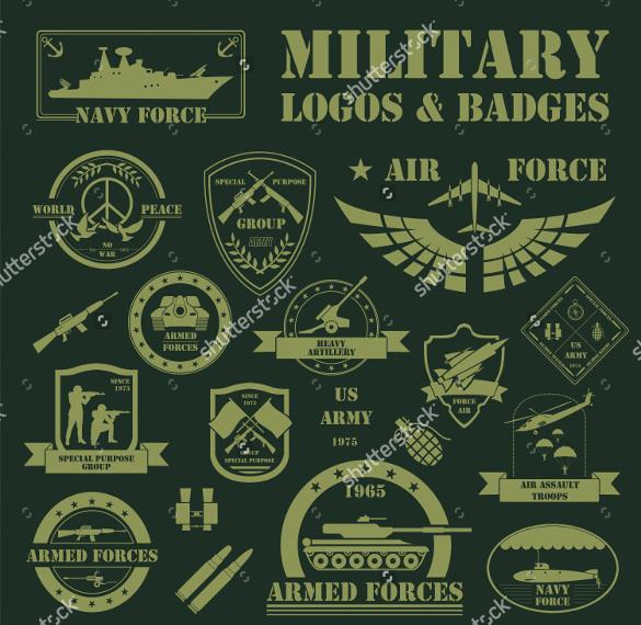 military gun logos