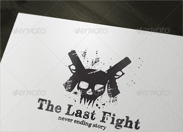 game the last fight logo template1