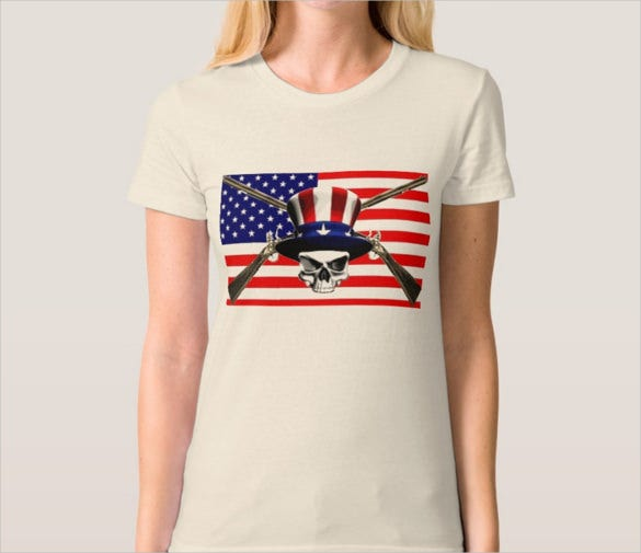 young gun conservative logo t shirt template