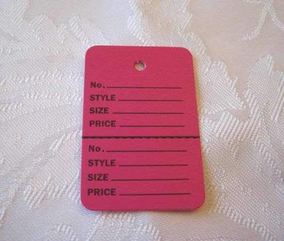 simple clothes inventory tags template download