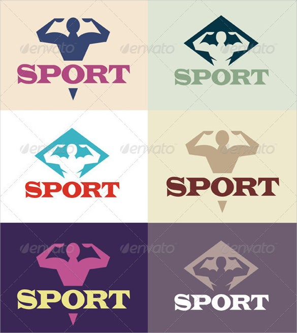sport logo eps download