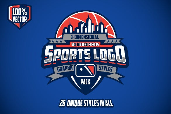 Sports Logo Graphic Style Template