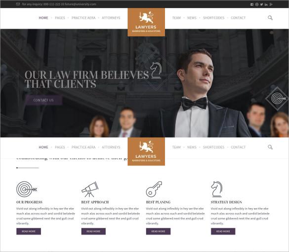 law legal lawyers wordpress theme
