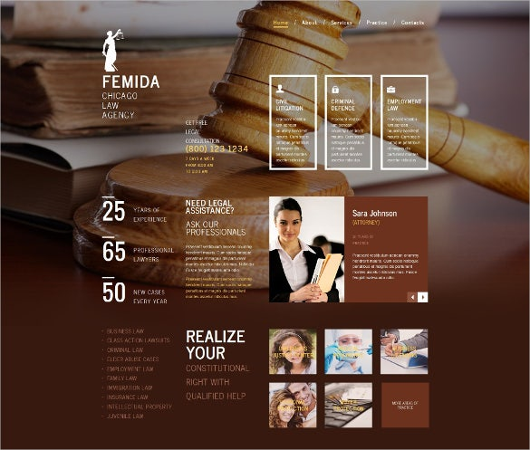 law legal firm moto cms html wordpress template