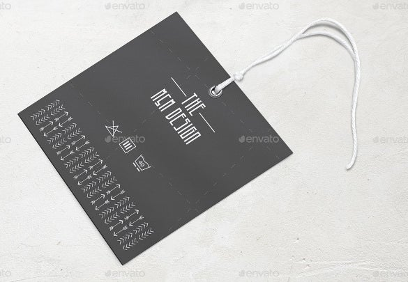 hang tag printable psd format template download