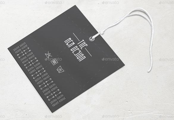Printable Tag Template Free Printable Vector EPS PSD Format - Printable hang tags templates