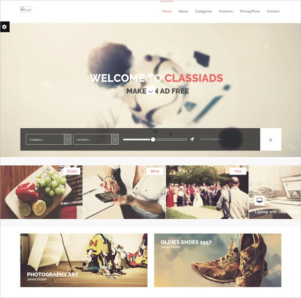 directory listing classified ads wordpress theme