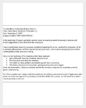 Business Memo Letter Format PDF Download