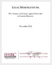 Human Right Legal Memorandum Template Download