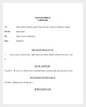 Memorandum of Confidental Template Download Free in PDF Format