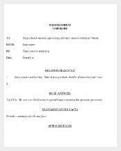 Memorandum of Confidental Template Download Free in PDF Format