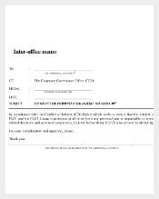 Initial Disclosure of Interoffice Memo PDF Download
