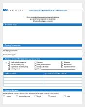Confidential Memorundum of Invitation PDF Template Download