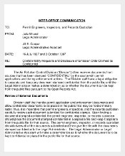 Simple Confidential Memo PDF Template