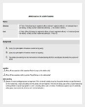 Word Document to Download Memorandum of Understanding