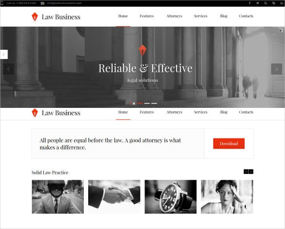 law legal lawyer wordpress theme