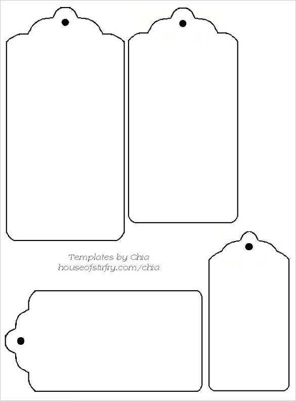 image regarding Free Printable Tags called 30+ Cost-free Tag Template - Vector EPS, PSD Totally free Quality